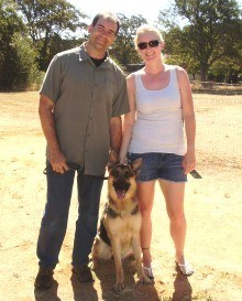 Waters Family with Allie for intermediate obedience